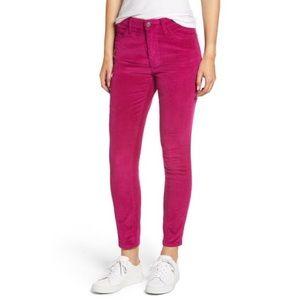 Current/elliott Stiletto high rise corduroy jeans